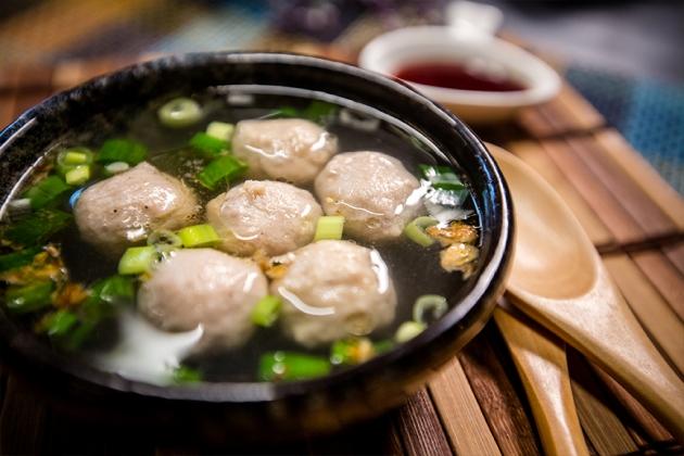 鴨肉丸湯 1